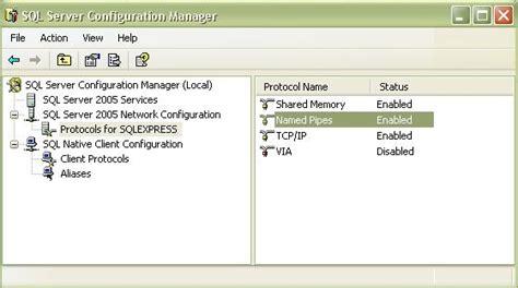 configuring mssql