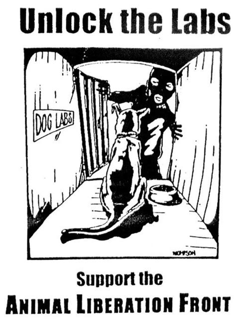 support  animal liberation front   animal