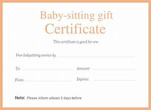 printable certificate template 46 adobe illustrator With babysitting gift certificate template