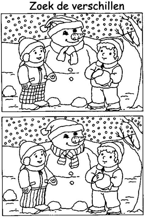 Disney Kleurplaat Winter by Kleurplaten Winter