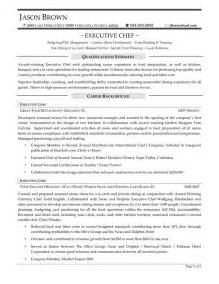 sle executive chef resume 44 best images about resume sles on human resources writers and accounting