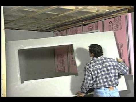 la pose des panneaux de gypse au sous sol d 233 coration et de r 233 novation r 233 nover une maison