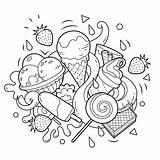 Colorear Colorfly Ausmalbilder Kritzeleien Icecream Mandalas Skizzen Fürs Malen Libros Principiantes Creams Sorvetes Imágenes Coloringforkids Animales Postkarten Selber Graciosos Riscos sketch template