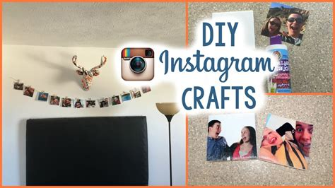 diy instagram crafts easy room decor crafts for teens youtube