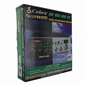 Cobra 29 Wx Nw St Cb Radio