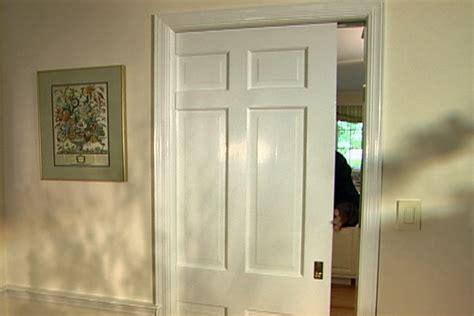 How To Repair And Replace A Pocket Door • Diy Projects. Lowes Garage Door Opener Parts. Mirrored Shower Doors. Man Door In Garage Door. Garage Ceiling Hooks. Bi Fold Closet Doors. Hooks For Garage. Bookcase With Door. Insulation For Garage Ceiling