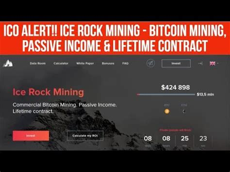 lifetime bitcoin mining contract ico alert rock mining bitcoin mining passive