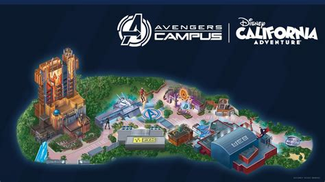 Disney Reveals Avengers Campus Map Featuring Black Panther ...