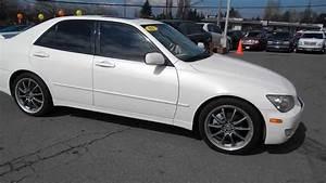 2001 Lexus Is300  White - Stock  L013716