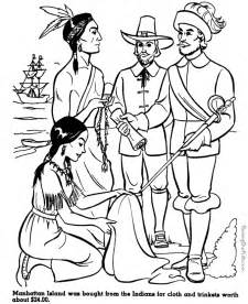 manhattan island history and coloring page 012