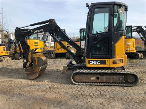 john deere  mini excavator   hours liberty equipment