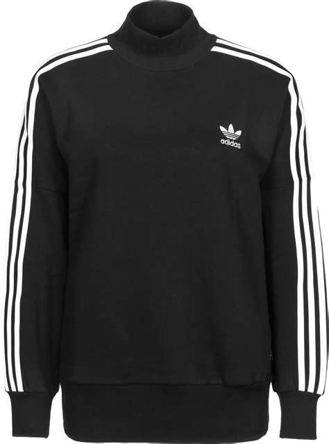 adidas sweater black and white adidas 3 stripes turtleneck w sweater black white weare shop