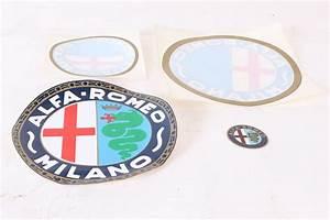 Alfa Romeo Accessoires : alfa romeo aufkleber sortiment 4 st ck alfa romeo ~ Kayakingforconservation.com Haus und Dekorationen