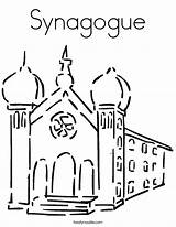 Synagogue Coloring Pages Judaism Clip Clipart Cliparts Da Library Twistynoodle Template Sketch Guardian Angel Print Communion Colorare Immagini Built California sketch template