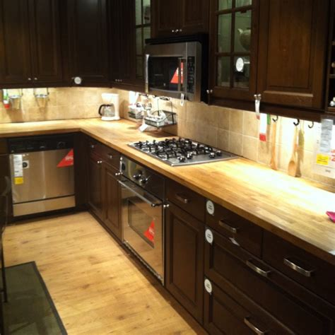 butcher block cabinet tops pin by wilma on home updates pinterest
