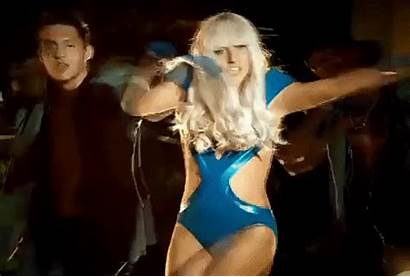 Gaga Lady Iconic Gifer Outfits Poker Face