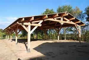 Batiment En Kit Bois : charpente hangar bois en kit ~ Premium-room.com Idées de Décoration