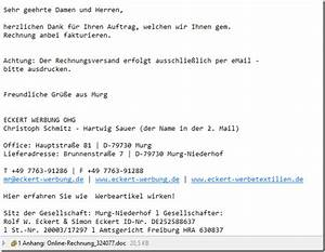 Italienisch Rechnung Bitte : vorsicht virus in online rechnung 324077 bitte ausdrucken mimikama ~ Themetempest.com Abrechnung