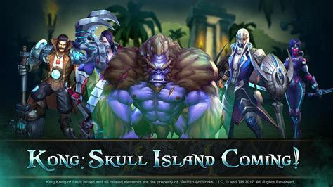 moba legends kong skull island  android apk