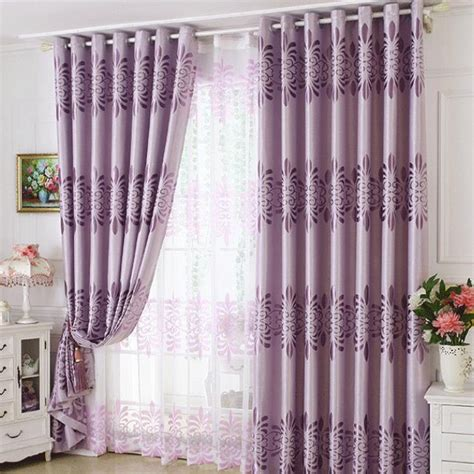 thermal drapes on sale purple floral thermal polyester curtains on sale