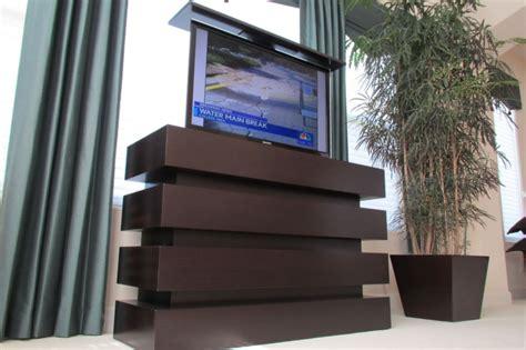 le bloc espresso modern tv lift tv cabinet lift tv cabinet with lift le bloc tv cabinet
