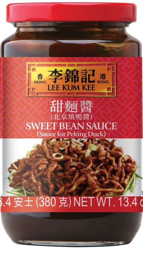 sweet bean sauce sauce  peking duck  sauce