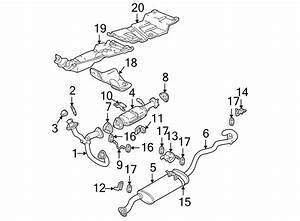 Chevrolet S10 Seal  Pipe  Exhaust  Gasket   Front