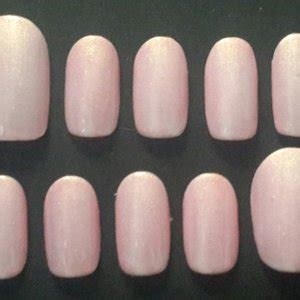jual classic glace nails kuku palsu handmade fake nails