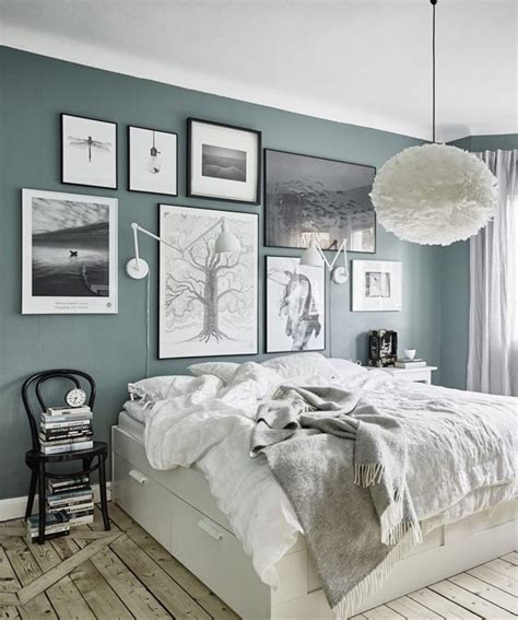 Simple Wall Colors For Bedrooms With Light Furniture
