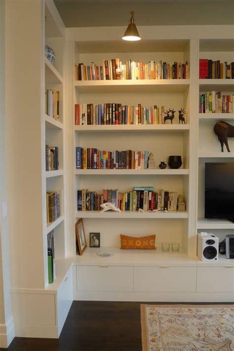 custom bookshelves ideas  pinterest library