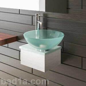 Kleine Waschbecken Für Gäste Wc : alpenberger waschbecken waschtisch f r g ste wc glas handwaschbecken waschschale ebay ~ Watch28wear.com Haus und Dekorationen