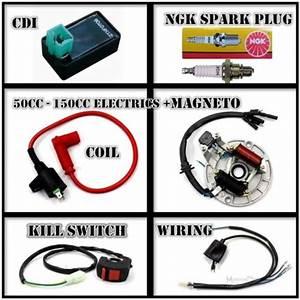 All Electrics 50 110cc 125cc 140 Wire Harness Cdi Coil