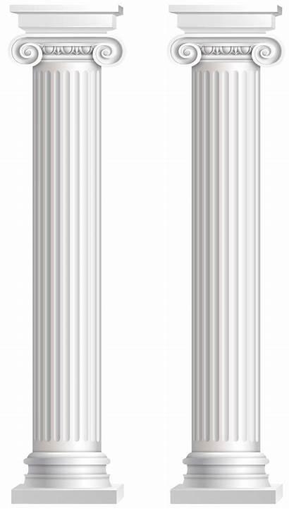Pillars Transparent Clip Clipart Pillar Column Cornice