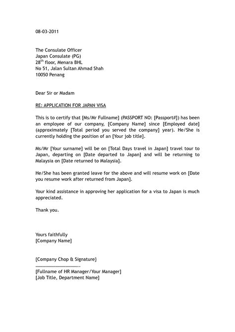 employment letter  tourist visa loginnelkrivercom