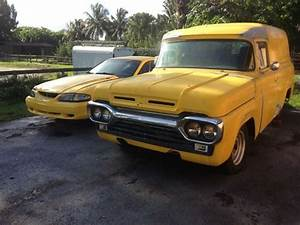 Sell used 1960 Ford F100 Panel Truck with 1987 Mustang 5.0, automatic AOD in Fort Lauderdale ...