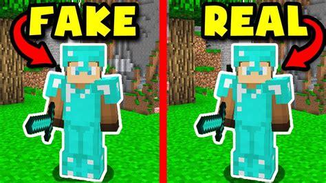 Fake Diamond Armor Minecraft Troll!
