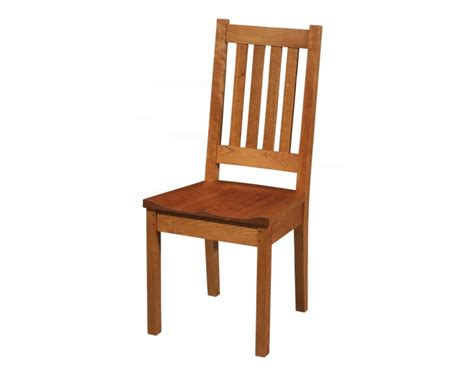 arts and crafts dining chair plans