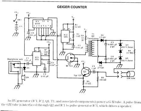 Schematic For Geiger Counter Google Search Where