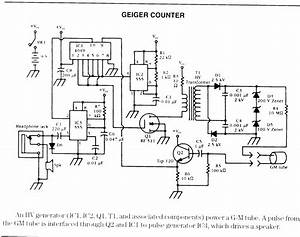 Schematic For Geiger Counter