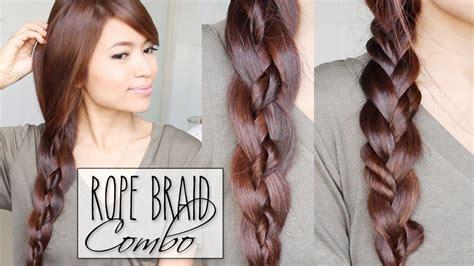 strand braid rope braid combo hairstyles hair