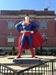 Superman statue Metropolis, IL | Metropolis, City, Superman