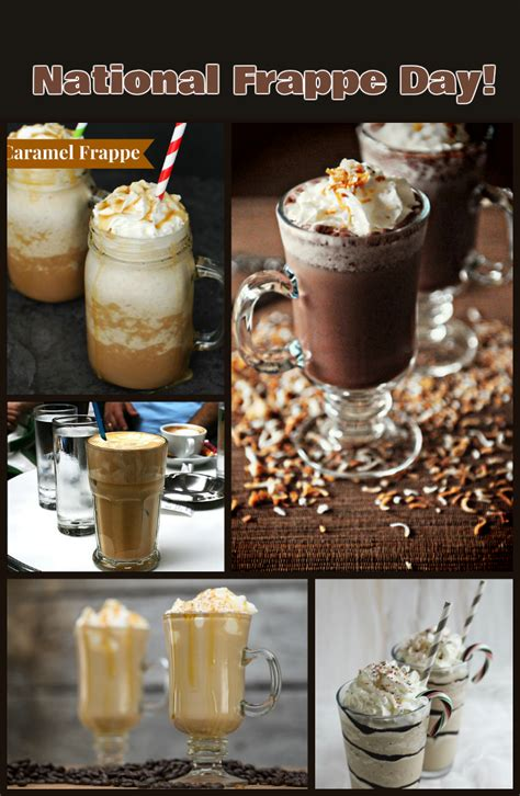 october   national frappe day discountqueenscom