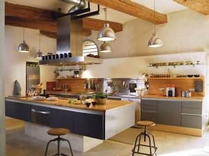 Cuisine Style Industriel Bois : ma cuisine la maison sera chefs pourcel blog ~ Teatrodelosmanantiales.com Idées de Décoration