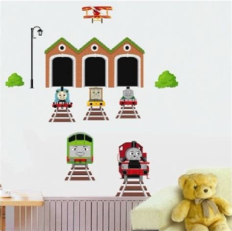 thomas the tank engine quote train wall decal sticker kids