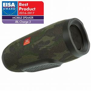 Wireless portable speaker JBL Charge 3, JBLCHARGE3SQUADEU