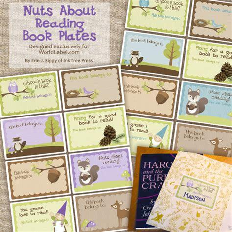 Kids Bookplate Labels By Ink Tree Press  Worldlabel Blog