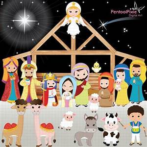 Clipart christmas borders mary baby jesus - BBCpersian7 ...