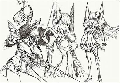 Kill Character Satsuki Ryuko Trigger Concept Kiryuin