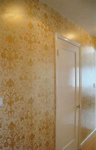 Custom 10+ Metallic Gold Wall Paint Design Ideas Of Best