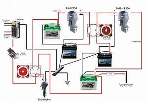 Boat Wiring Diagram Step 2 Notes Min In Marine Battery
